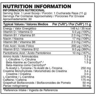 GoldStandart Preworkout Nutrienda