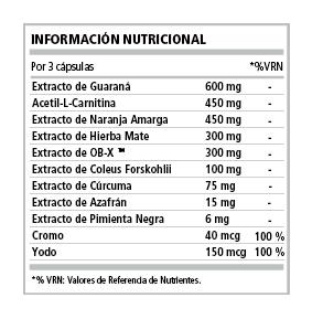 TF 1 Thermo Burner Nutrienda