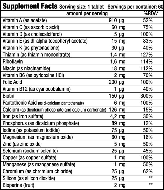 Vitacomplex Nutrienda