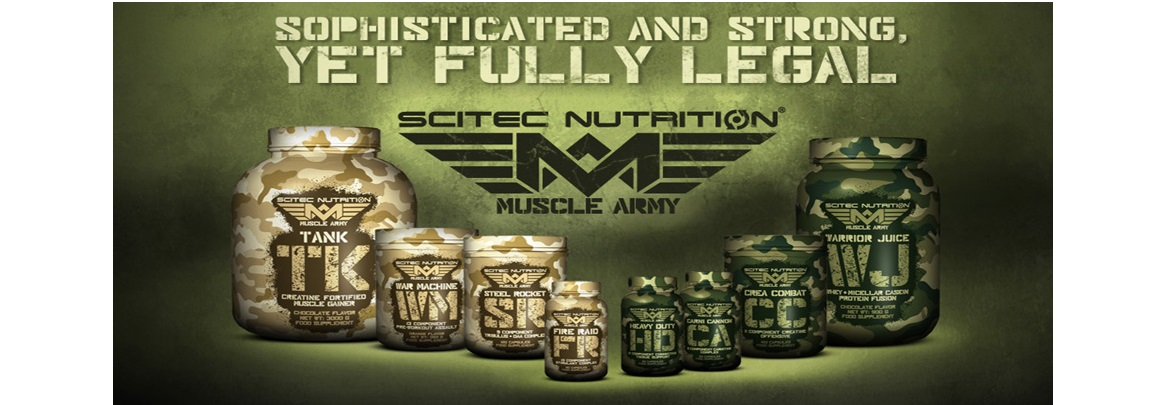 MUSCLE ARMY NUTRIENDA.COM